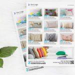 Creative Pillow Handmade Product Catalog Flyer