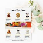 Toys Product Flyer Template For Promotion
