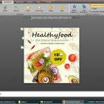 Social Media Video Food Promotion Templates for Power Point (PPT)